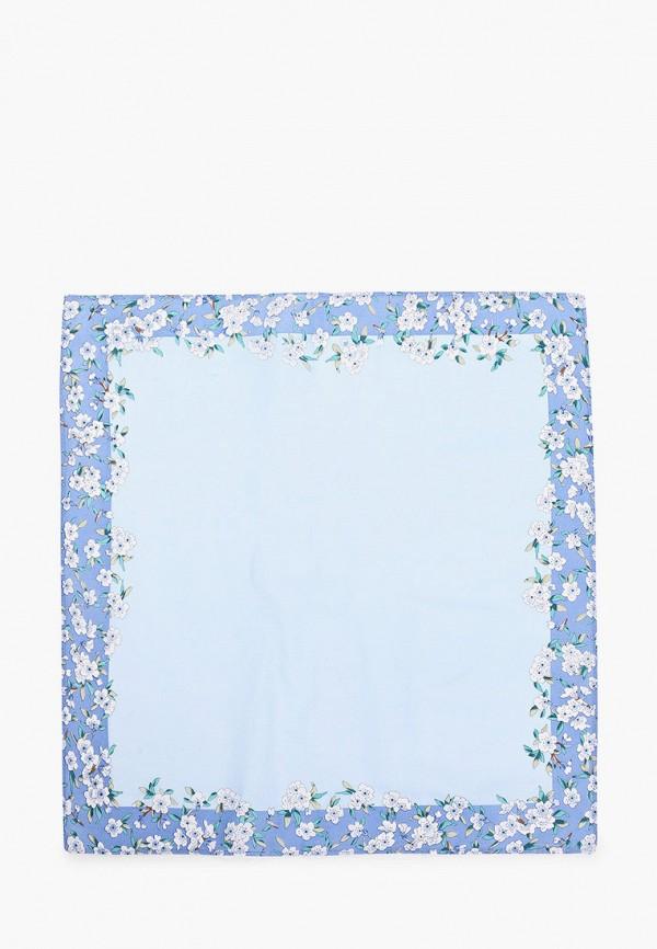 женский платок shining star, голубой