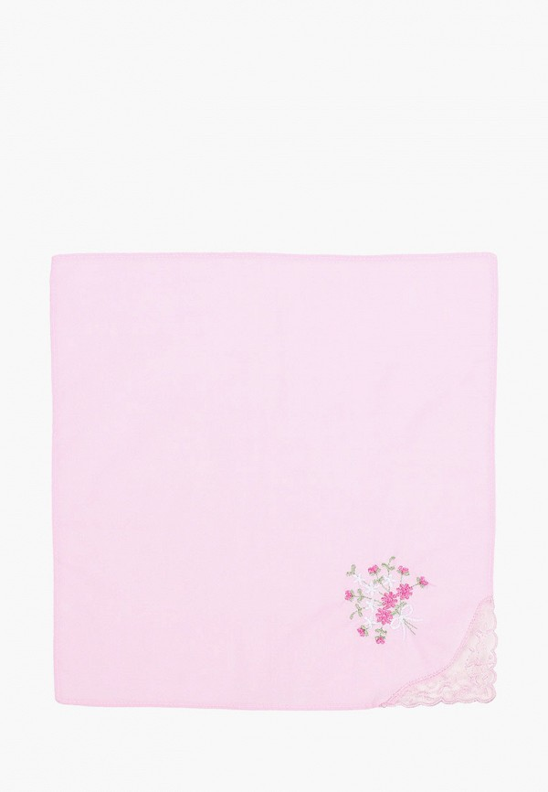 женский платок shining star, розовый