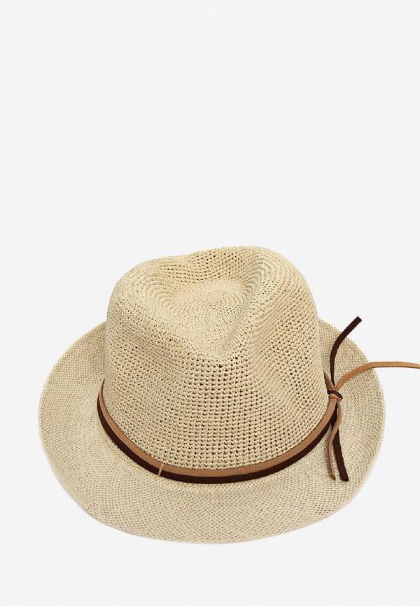женская шляпа luckylook, бежевая