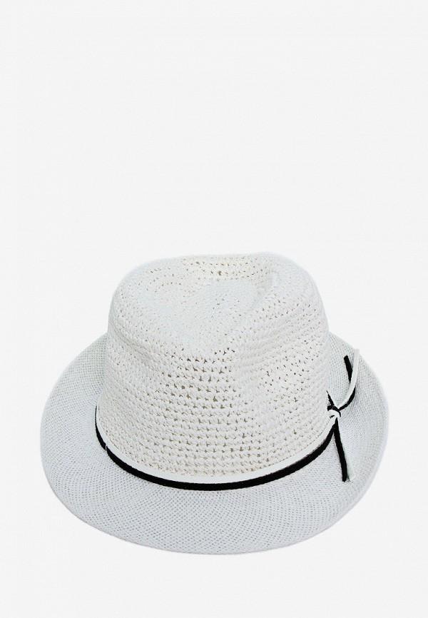 женская шляпа luckylook, белая