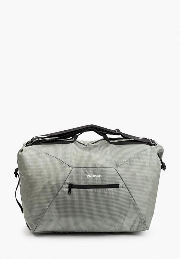 женская спортивные сумка bask, серая