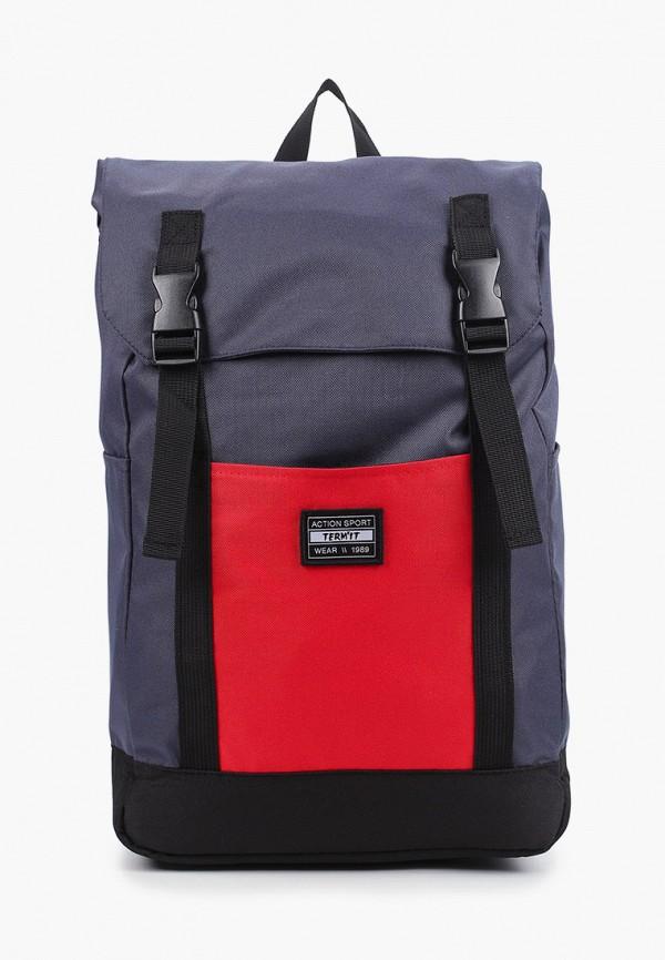 женский рюкзак termit, серый