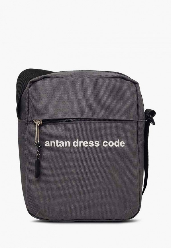 женская сумка через плечо antan, серая