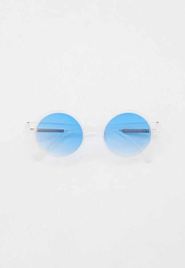 женские круглые солнцезащитные очки bocciolo, белые