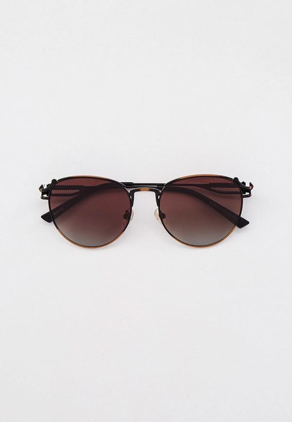 женские круглые солнцезащитные очки havvs, коричневые