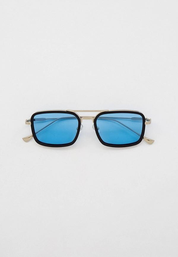 женские квадратные солнцезащитные очки havvs, серебряные