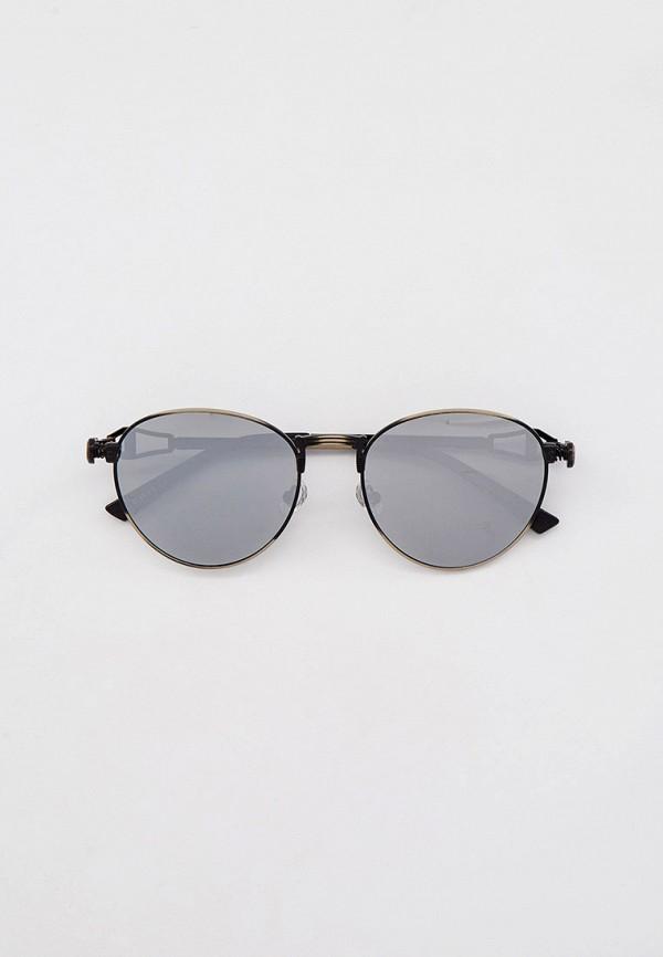 женские круглые солнцезащитные очки havvs, серебряные