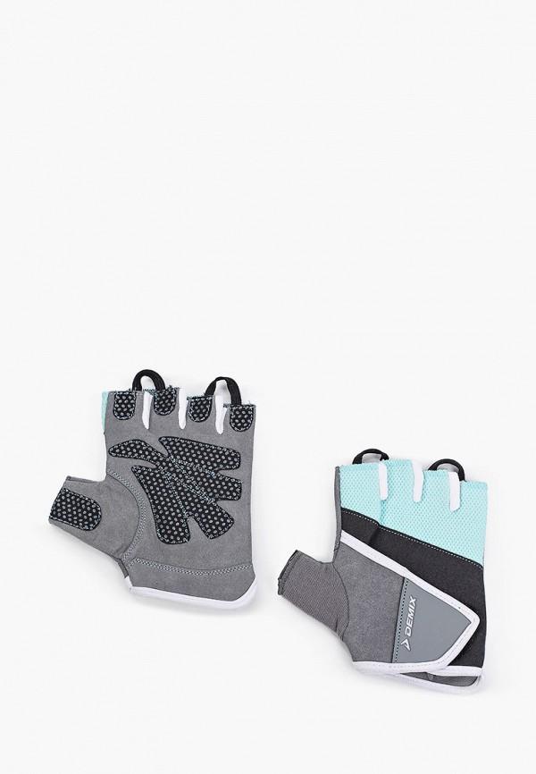 женские перчатки demix, разноцветные