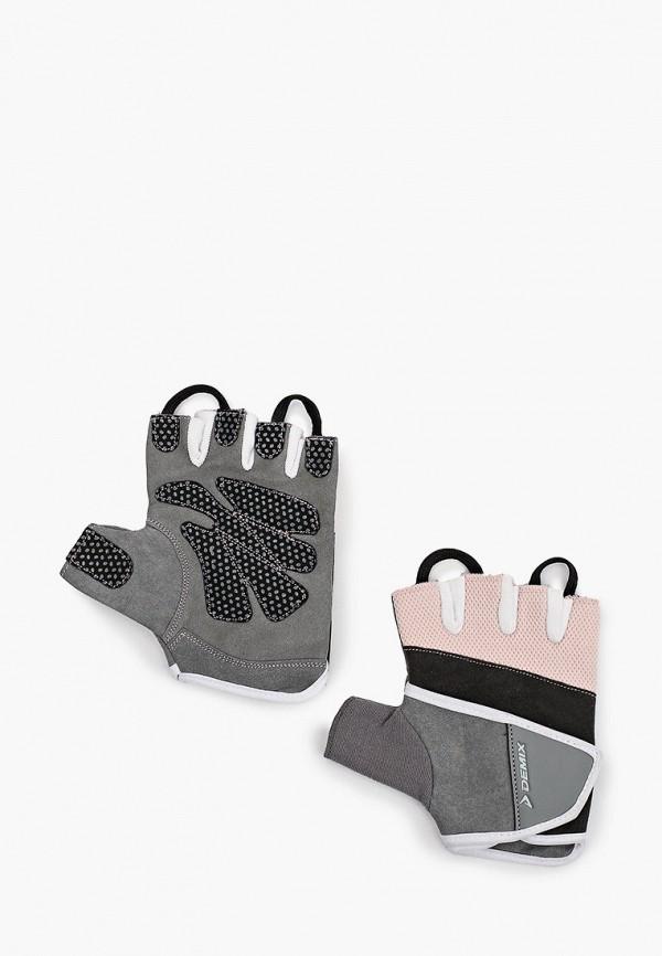женские перчатки demix, серые