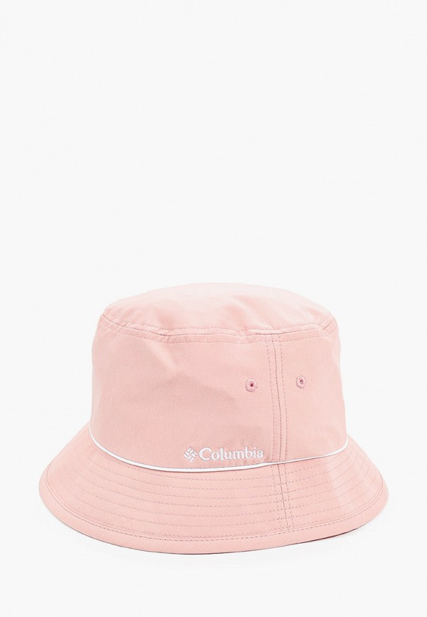 женская панама columbia, розовая