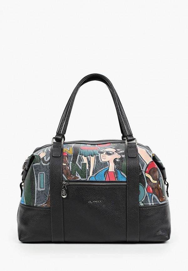 женская дорожные сумка curanni, черная