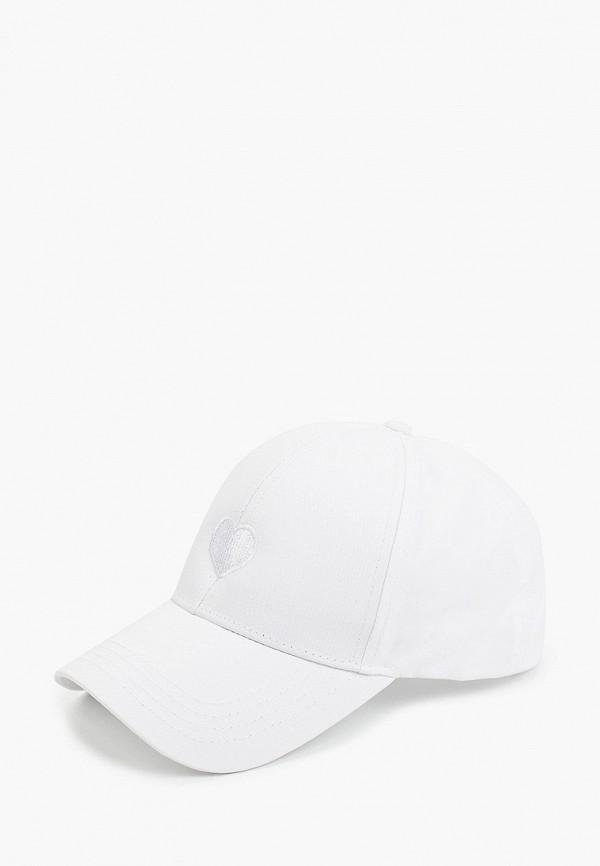 женская бейсболка hatparad, белая
