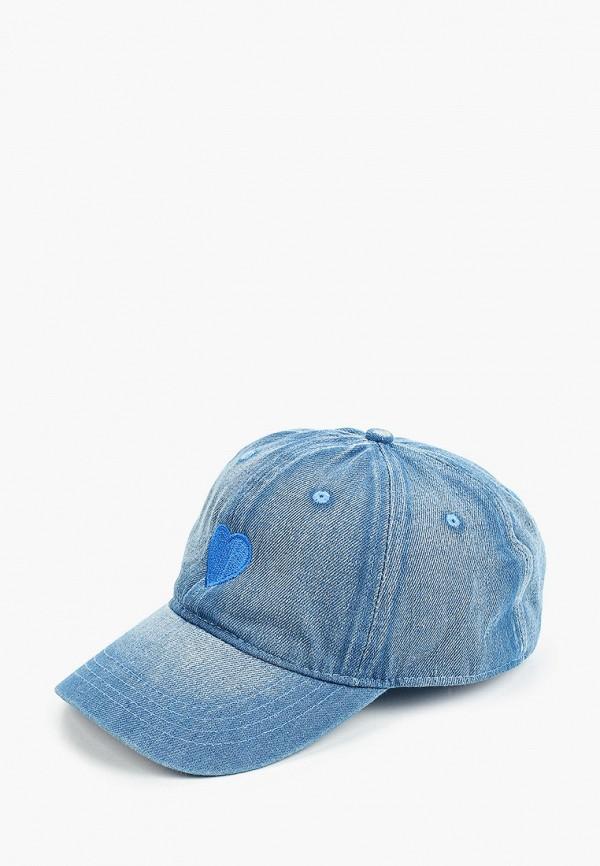 женская бейсболка hatparad, голубая