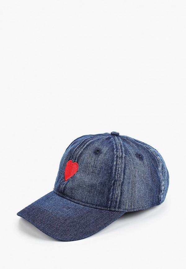 женская бейсболка hatparad, синяя