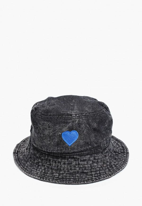 женская панама hatparad, черная