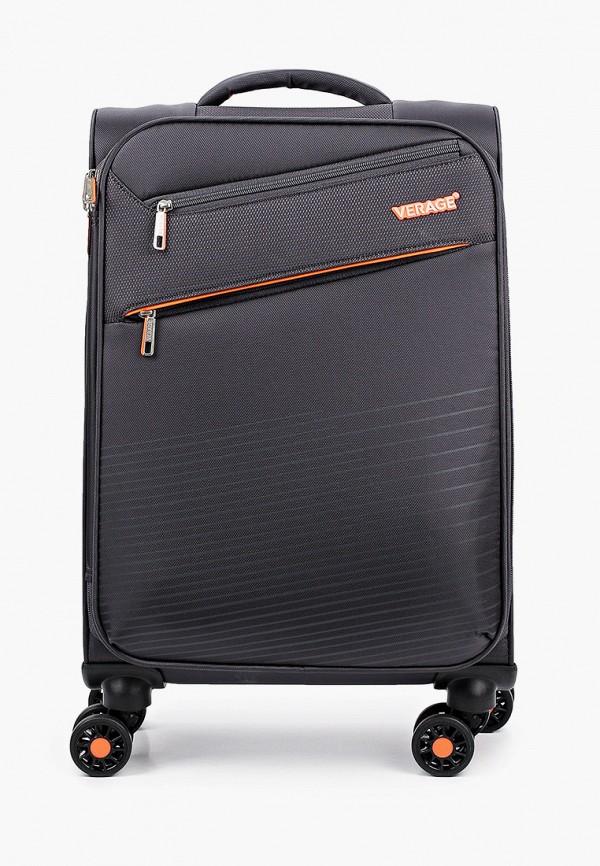 женский чемодан verage, серый