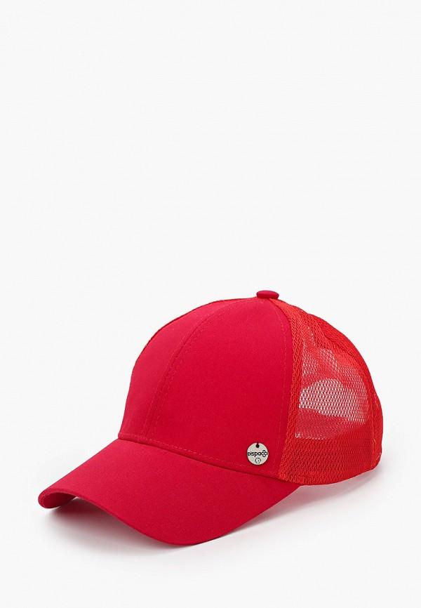 женская бейсболка dispacci, красная