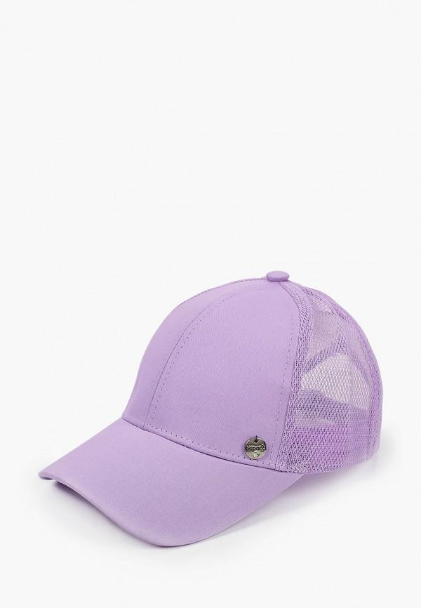 женская бейсболка dispacci, фиолетовая