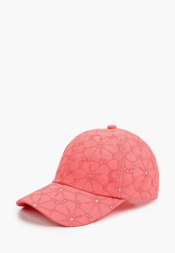 женская бейсболка dispacci, розовая