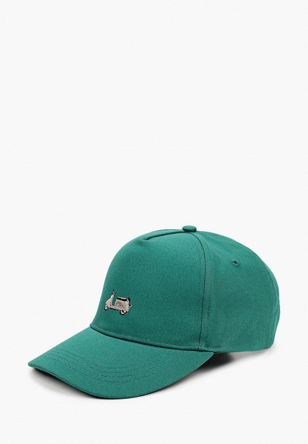 женская бейсболка запорожец heritage, зеленая