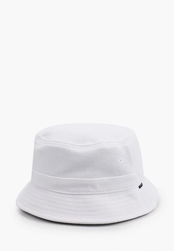 женская панама lacoste, белая