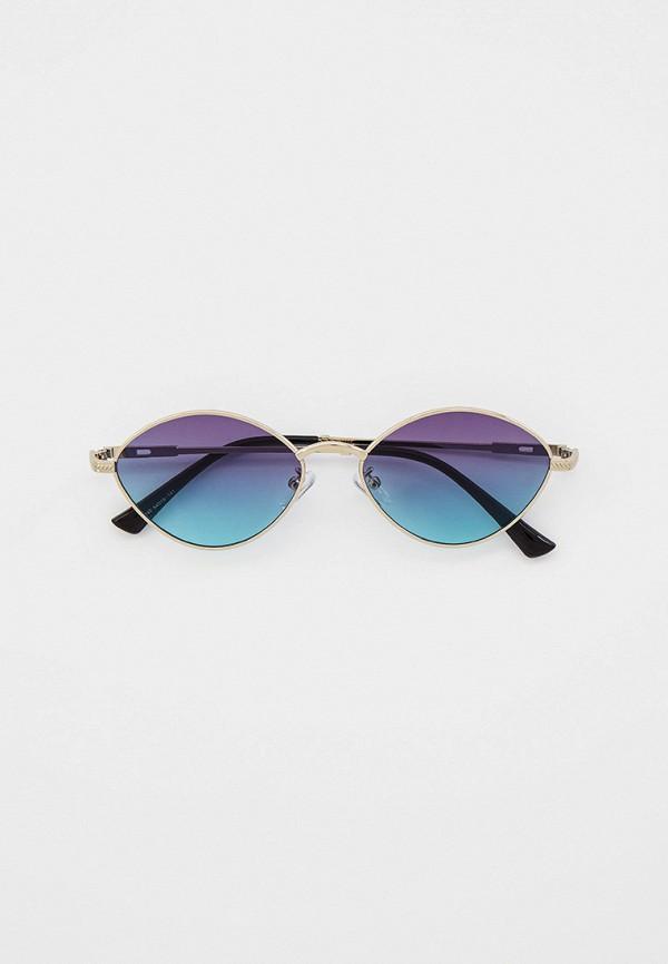 женские круглые солнцезащитные очки bocciolo, серебряные