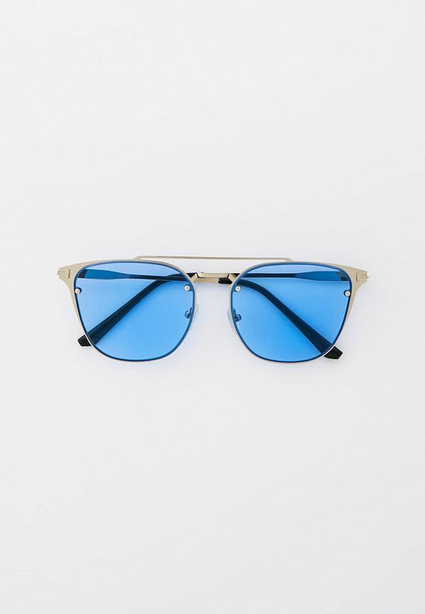 женские квадратные солнцезащитные очки bocciolo, серебряные