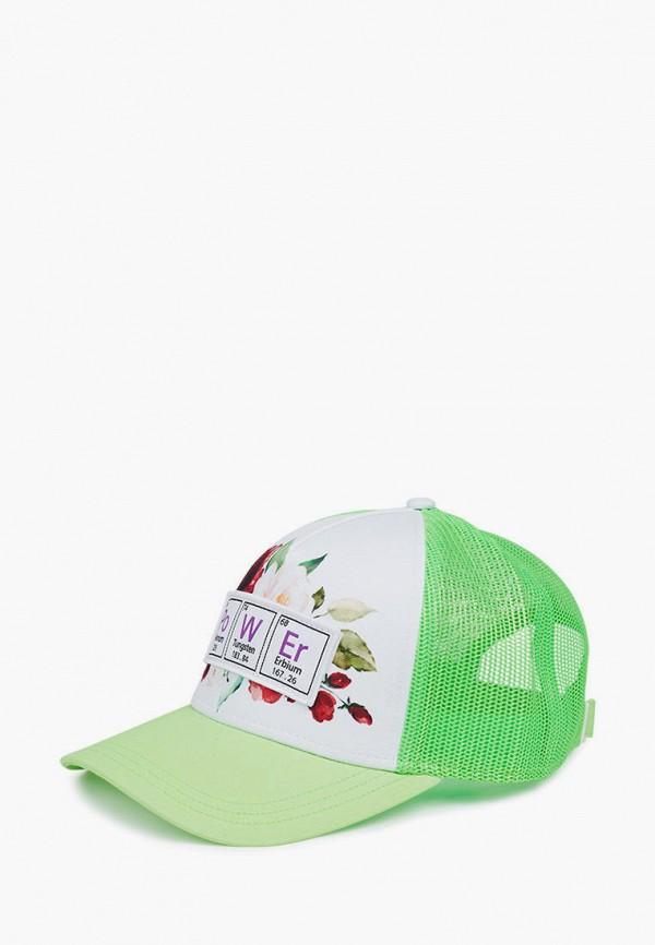 женская бейсболка urbanpeak, зеленая