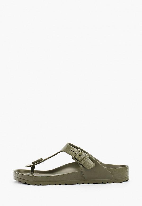 женские сандалии birkenstock, хаки