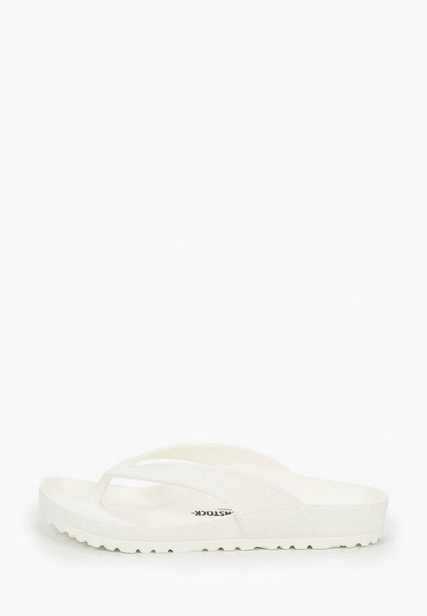 женские сланцы birkenstock, белые