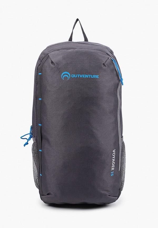 женский рюкзак outventure, серый