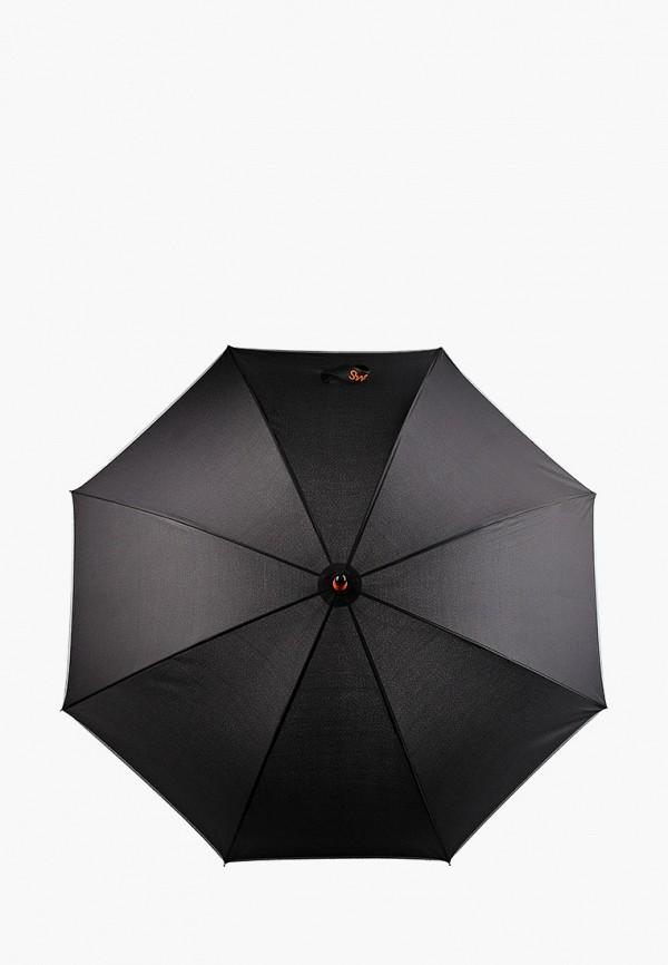 женский зонт-трости swims, черный