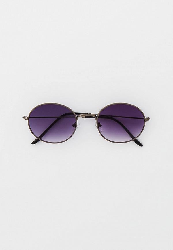 женские круглые солнцезащитные очки vitacci, разноцветные