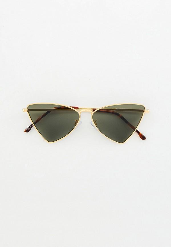 женские авиаторы солнцезащитные очки bocciolo, золотые