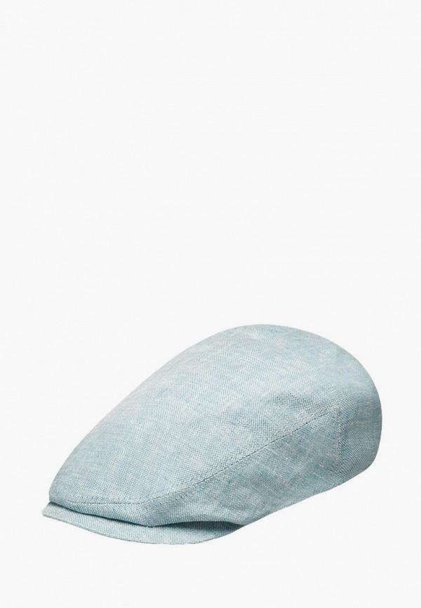 женская кепка stetson, бирюзовая