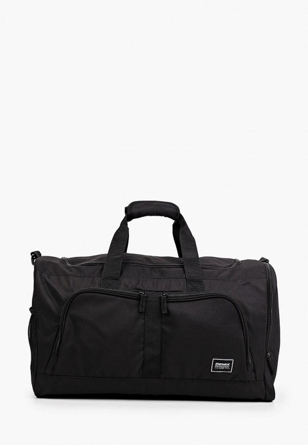 женская спортивные сумка demix, черная