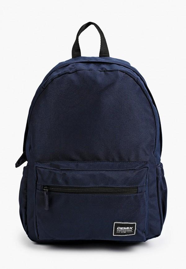 женский рюкзак demix, синий