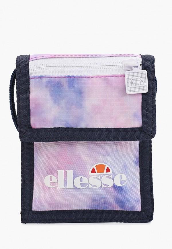 женский кошелёк через плечо ellesse, разноцветный
