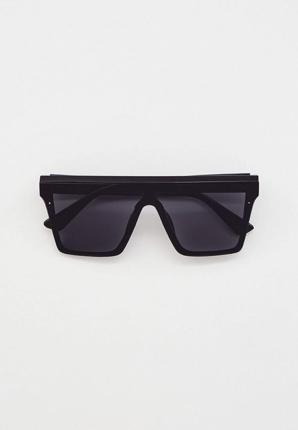 женские квадратные солнцезащитные очки beautyparad, черные