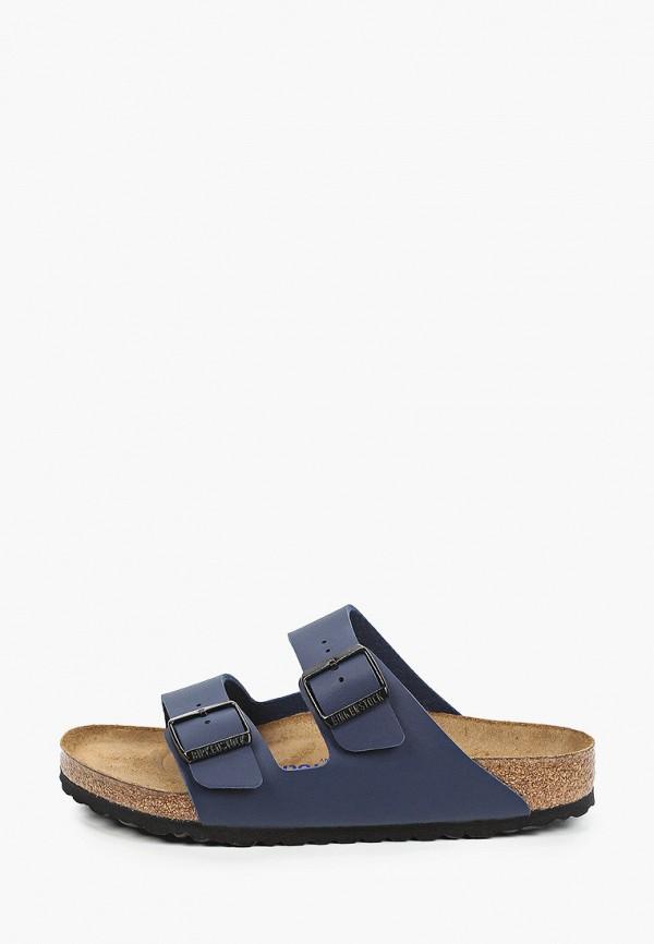 женские сандалии birkenstock, синие