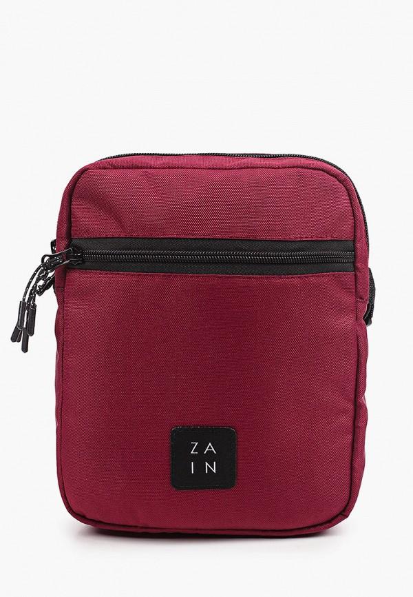 женская сумка через плечо zain, бордовая
