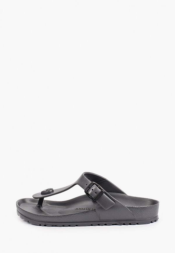 женские сандалии birkenstock, серые