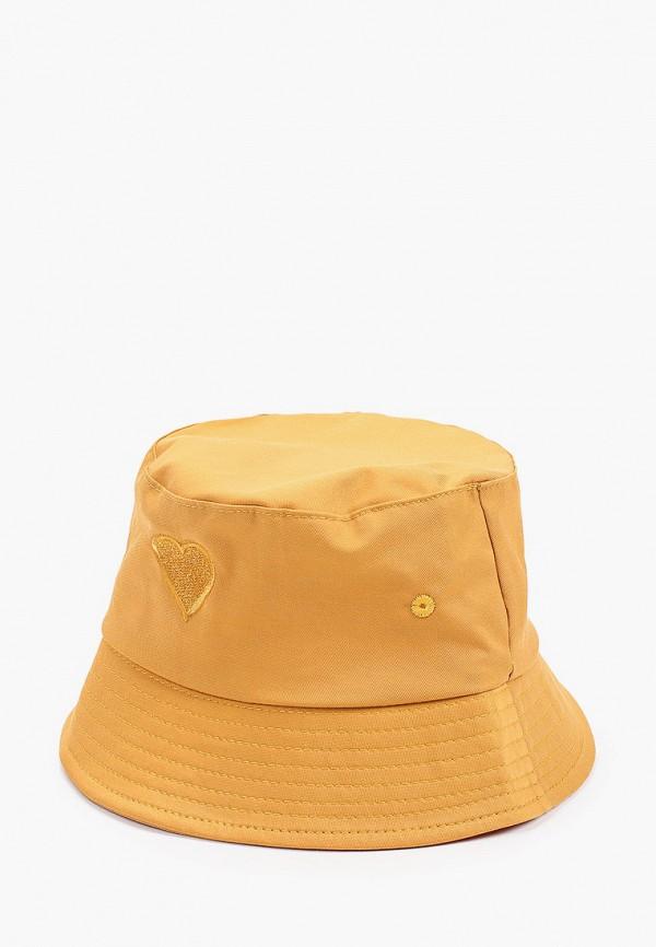 женская панама hatparad, желтая