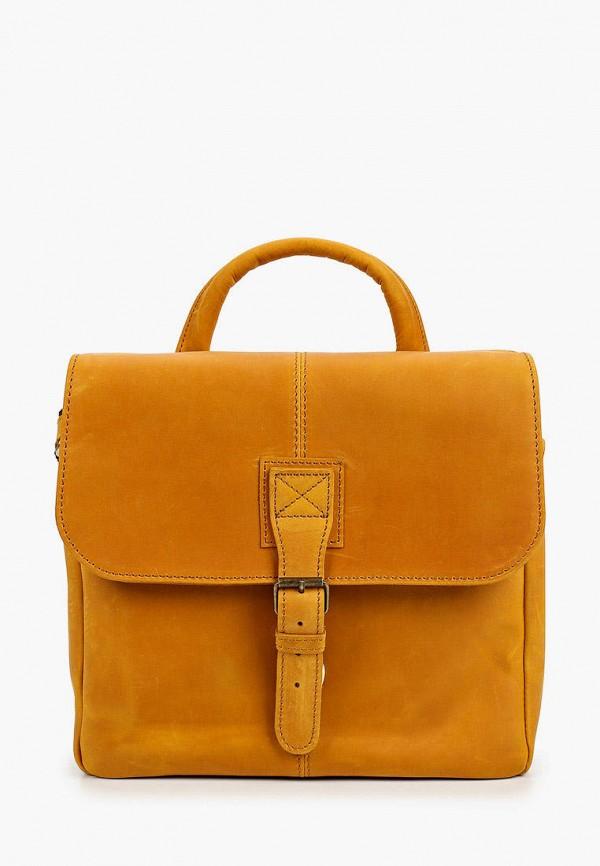 женская сумка через плечо duffy, оранжевая