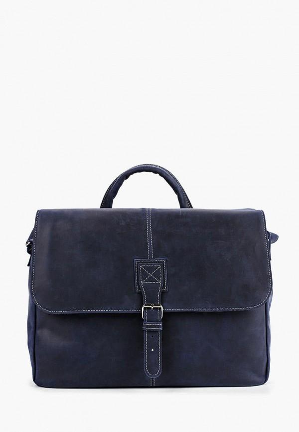женская сумка через плечо duffy, синяя