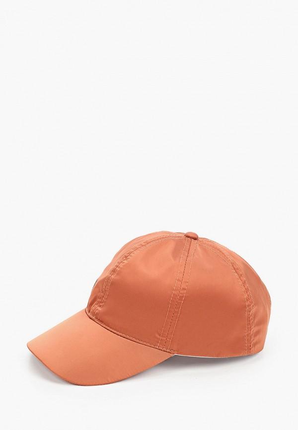 женская бейсболка unu clothing, коричневая