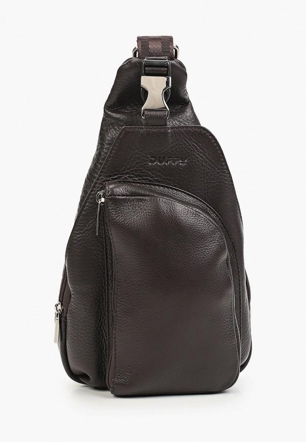 женский рюкзак duffy, коричневый