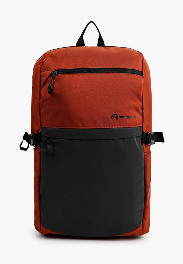 женский рюкзак outventure, коричневый