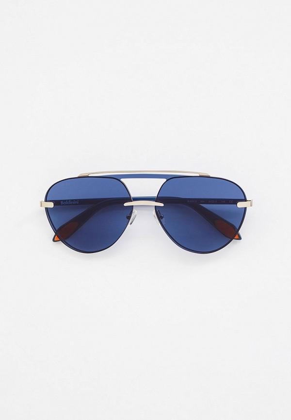 женские авиаторы солнцезащитные очки baldinini, серебряные