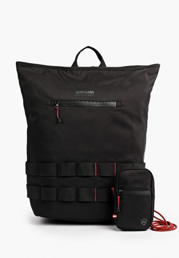 женский рюкзак northland, черный